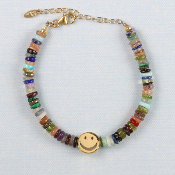 "Limited Edition: ""All the Gems"" Smiley Bracelet"