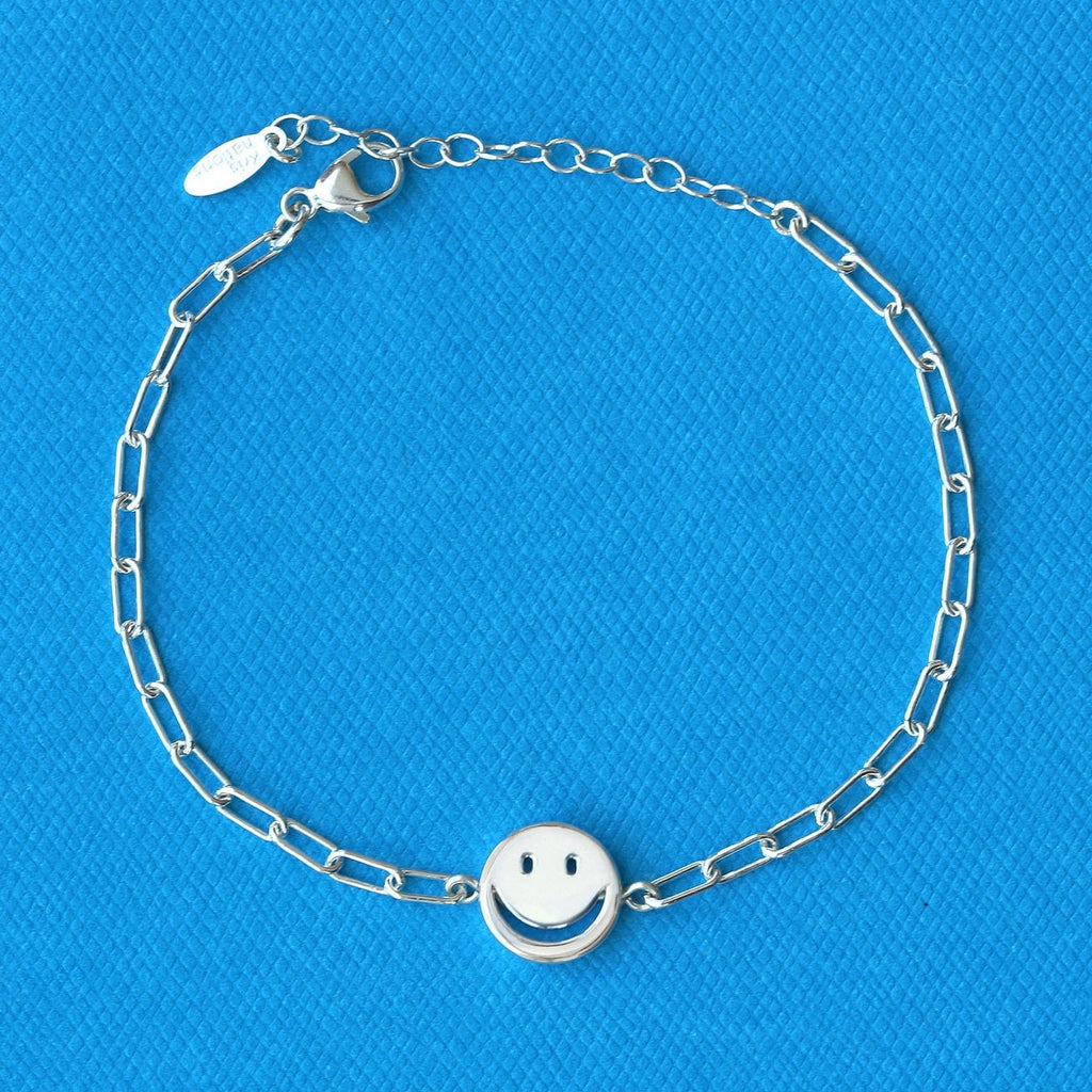 Happy Face Chain Bracelet
