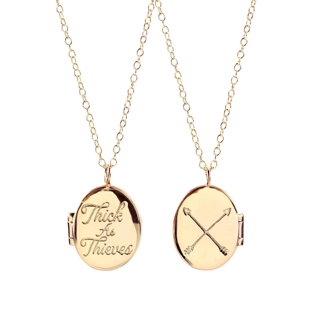 Thick As Thieves Locket