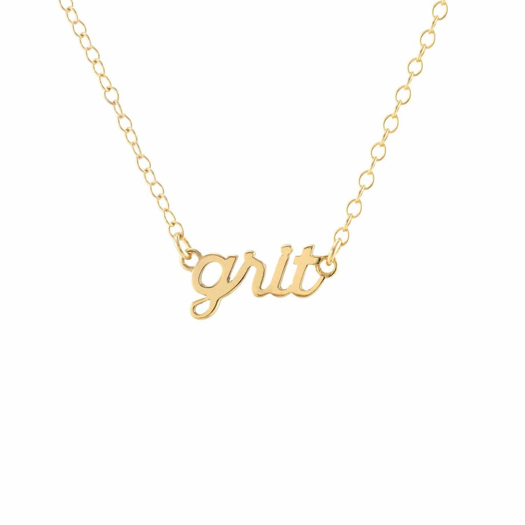 Grit Charm Necklace