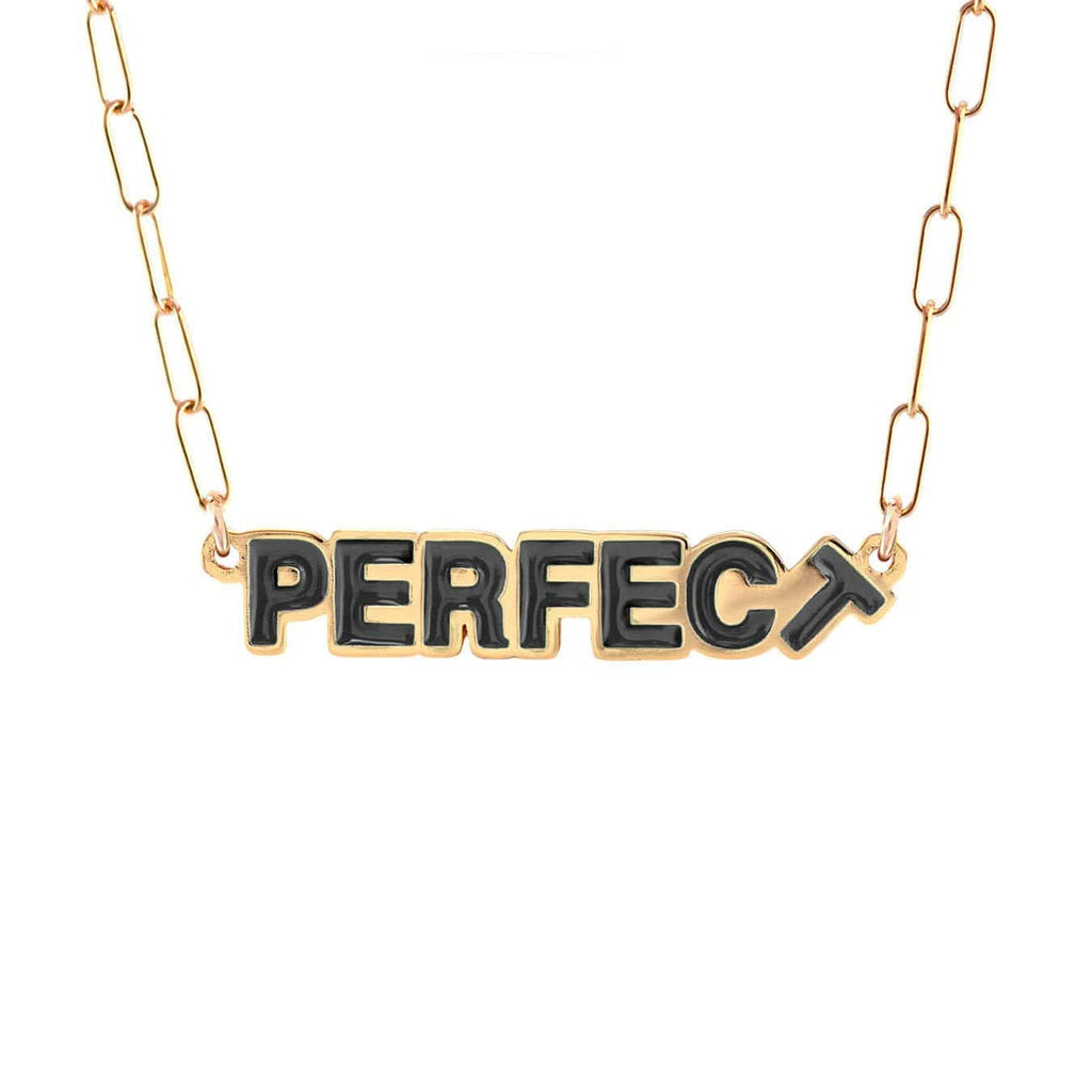 Perfect Enamel Charm Necklace