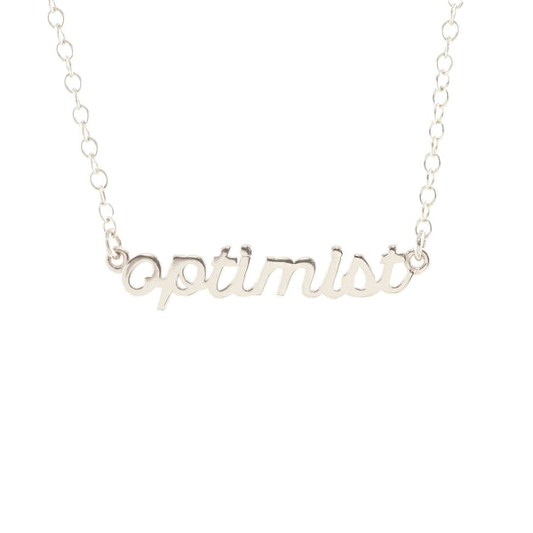 Optimist Charm Necklace