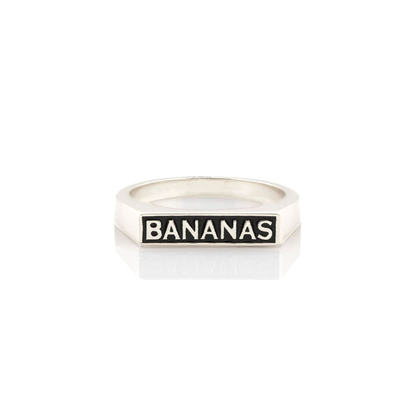 Bananas Enamel Ring