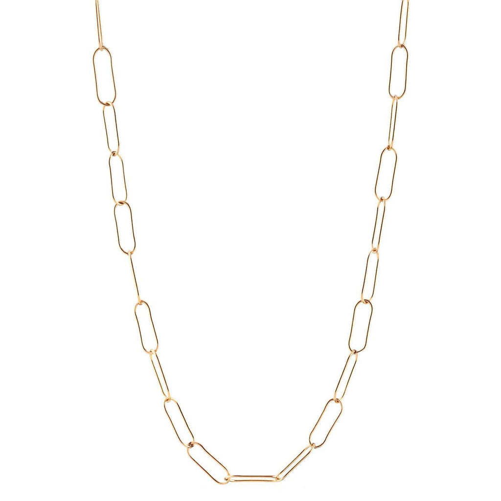 Long Style, Large Link Chain Necklace