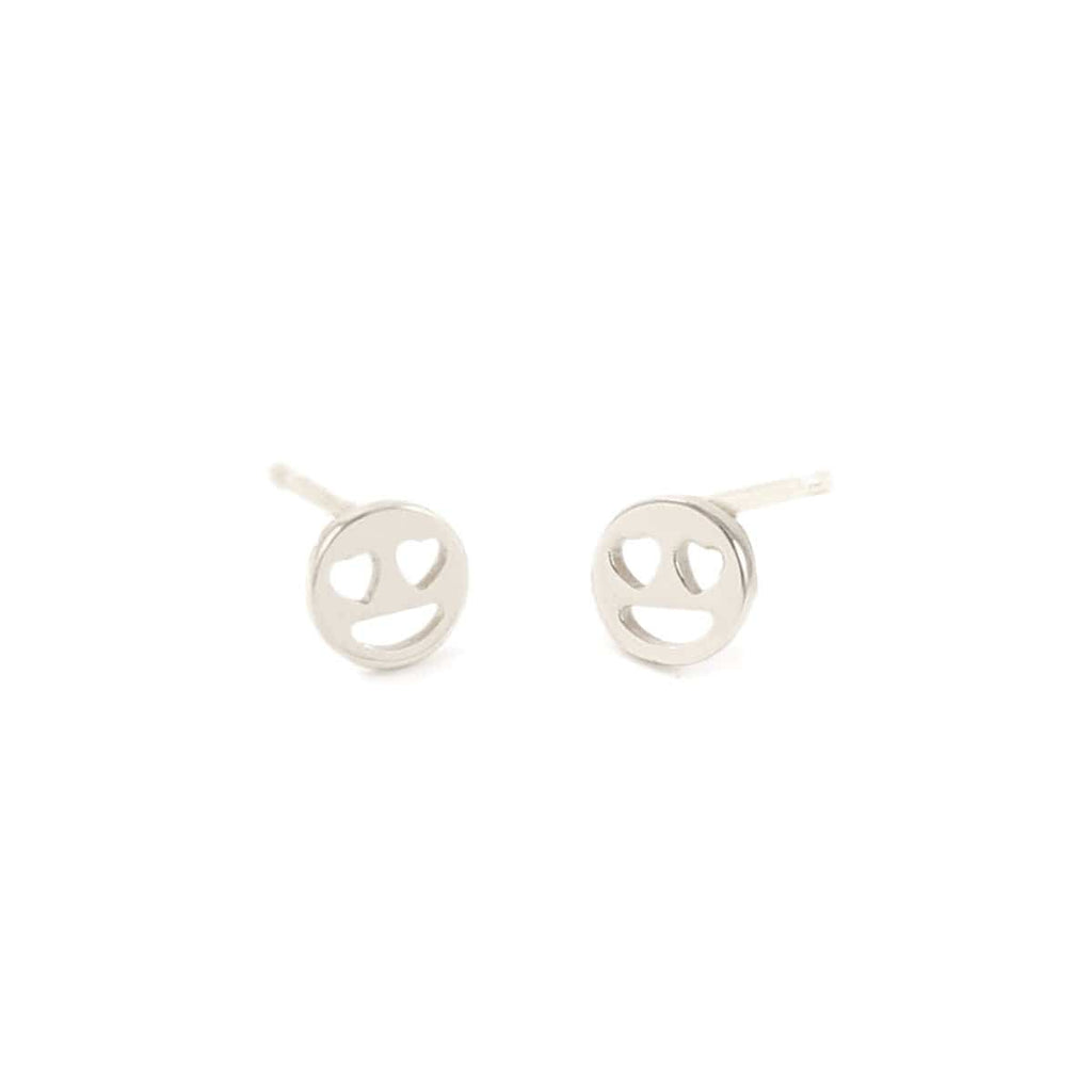 Heart Eyes Stud Earrings