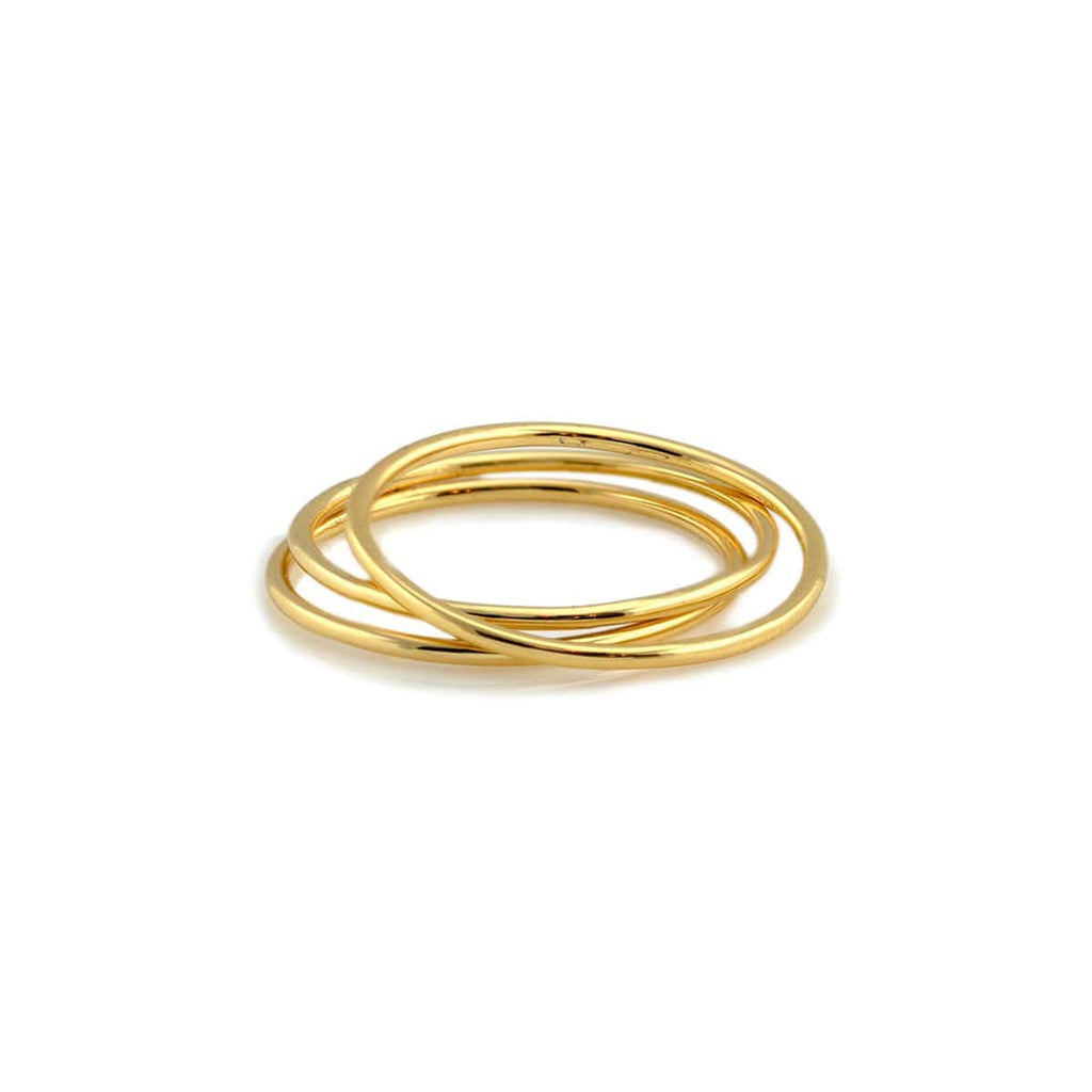 Classic Stacking Rings Set of 3