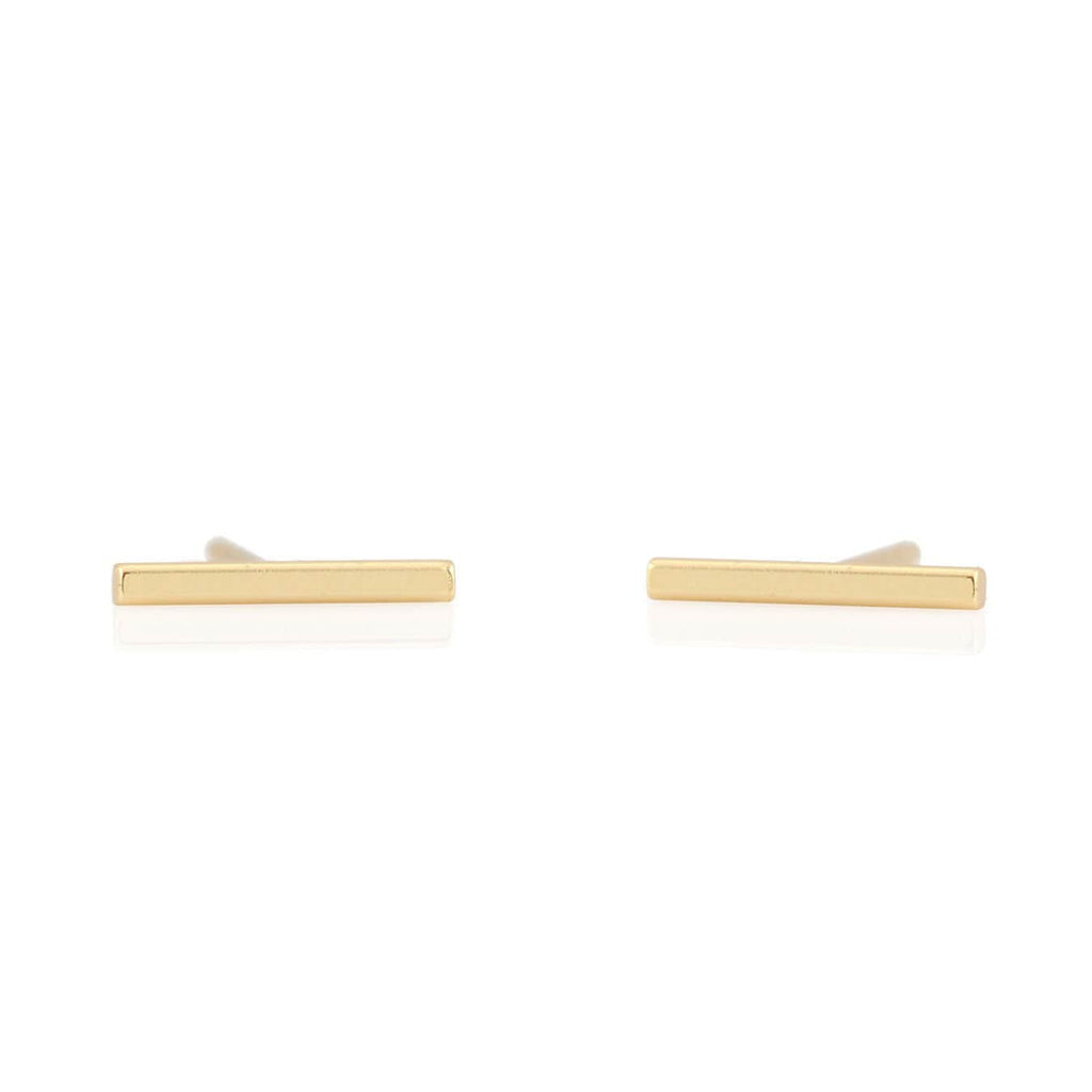 Bar Dash Stud Earrings
