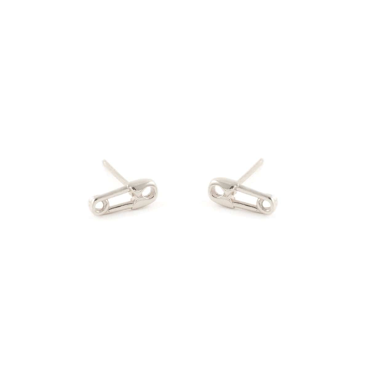 25f928e5c Safety Pin Stud Earrings - kris nations