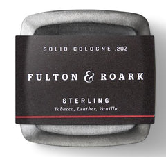 Fulton & Roark Solid Cologne- Sterling