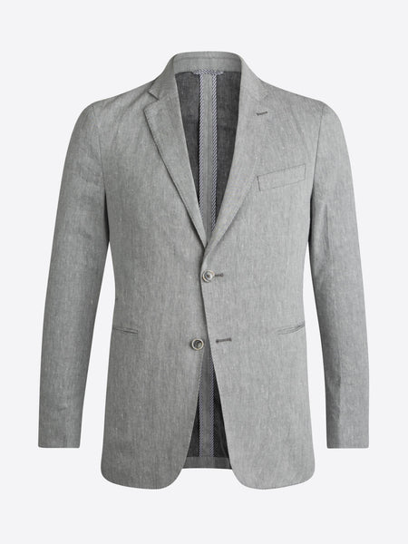 Bugatchi 2 Button Cement Linen Sport Coat