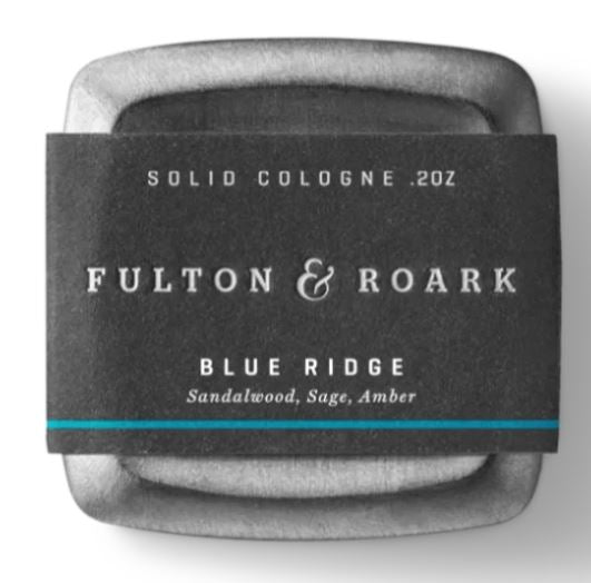 Fulton & Roark Solid Cologne- Blue Ridge