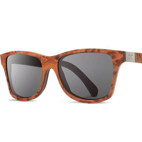 Shwood Redwood Walnut Canby Wood Sunglasses