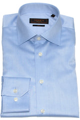 Serica Classic Non-Iron Dress Shirt - Blue