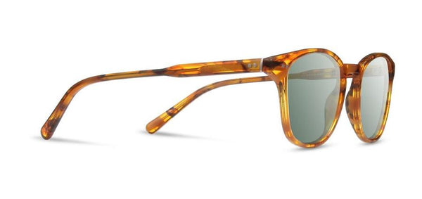 Shwood Cracked Amber G15 Kennedy Acetate Sunglasses
