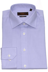 Serica Classic Non-Iron Dress Shirt - Purple Houndstooth