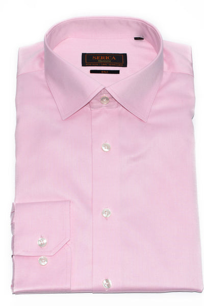 Serica Classic Non-Iron Dress Shirt - Pink
