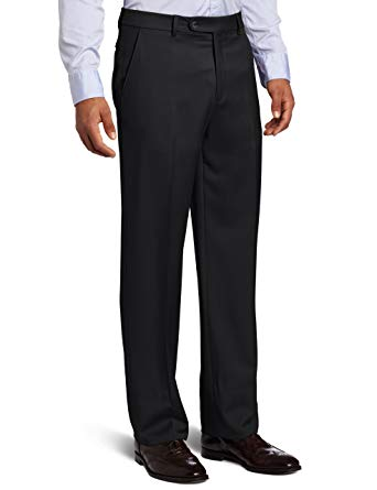 Ballin Gabardine 100% Wool Flat Front Dunhill Traditional Fit Trouser