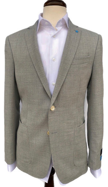 BluJacket Grey Basketweave Sport Coat