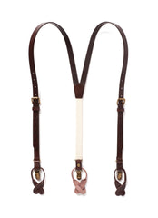 JJ Suspenders Chestnut Java Leathers