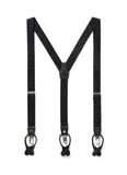 JJ Suspenders Night Skies Black Paisley Classic