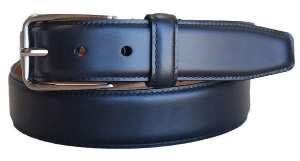 Lejon Cambridge Black Harness Leather Belt
