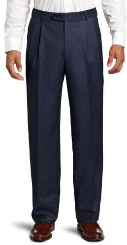 Ballin Sharkskin 100% Wool Flat Pleated Manchester Trouser