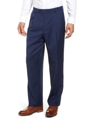 Ballin Travel Twill 100% Wool Pleated Manchester Trouser
