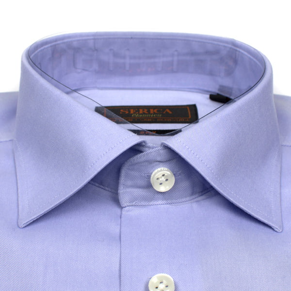 Serica Classic Non-Iron Dress Shirt - Lavender