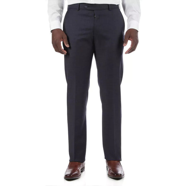 Ballin Travel Twill 100% Wool Flat Front Soho Modern Fit Trouser