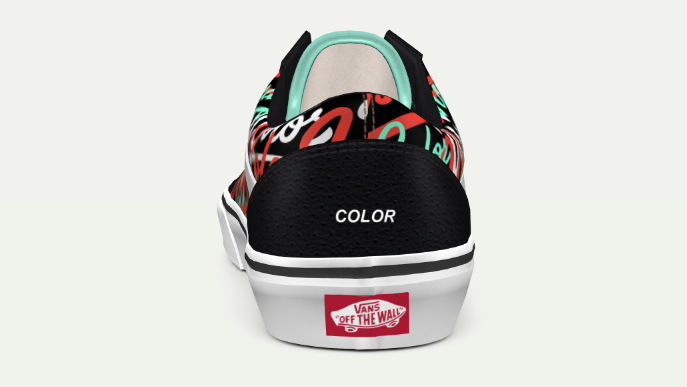 Visionary Color (Old School Vans)