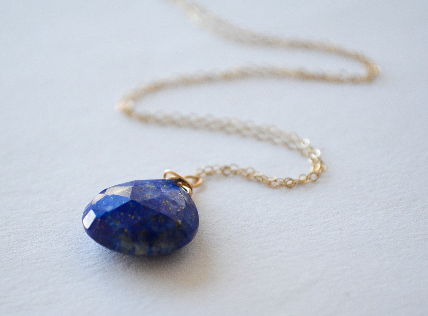 Cobalt Necklace