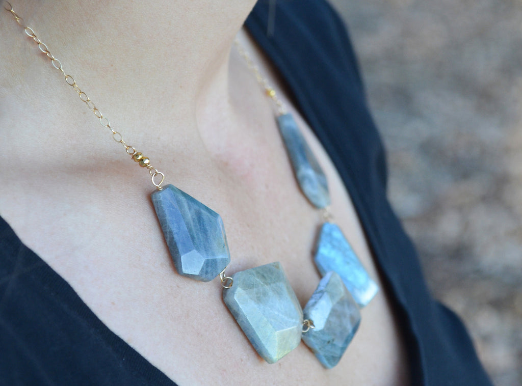 Labradorite Luster Necklace