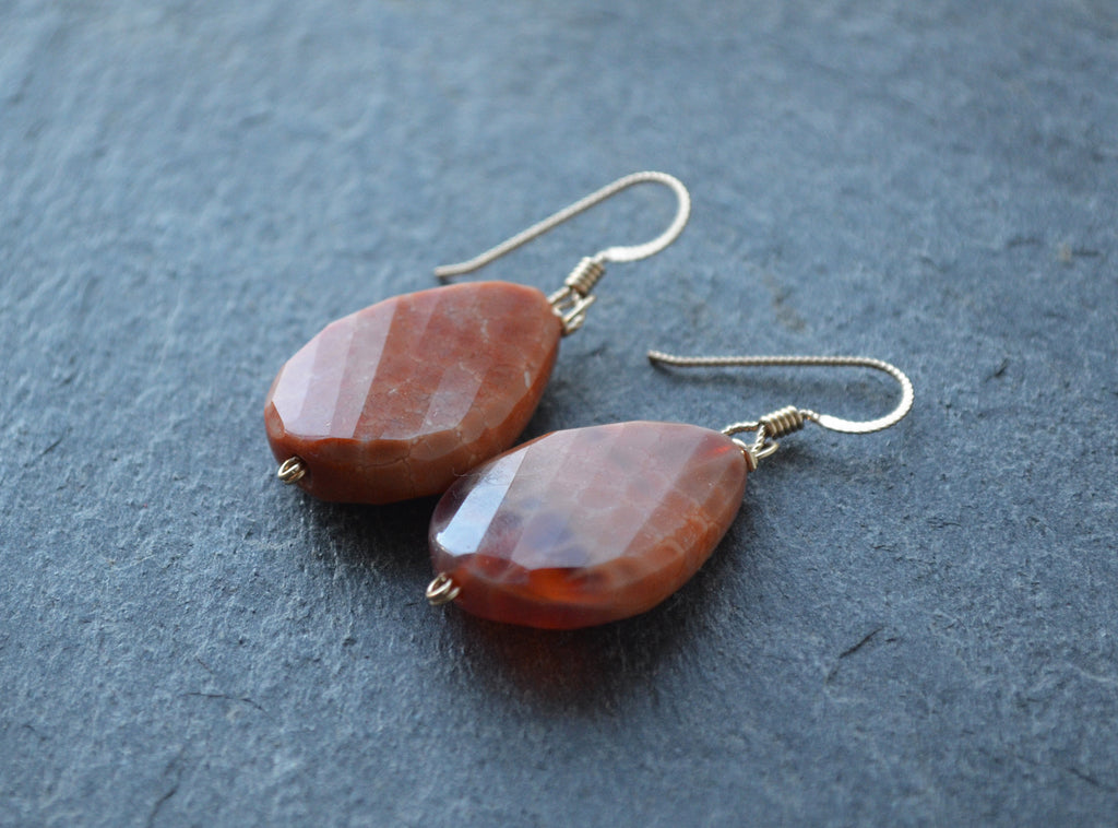 Persimmon Earrings