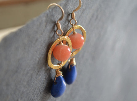 Cantaloupe Earrings