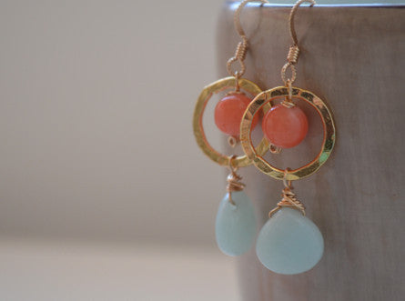 Honeydew Earrings