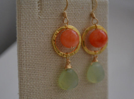 Papaya Earrings