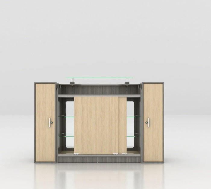 MAYAKOBA ALERA RECEPTION DESK WITH DISPLAY