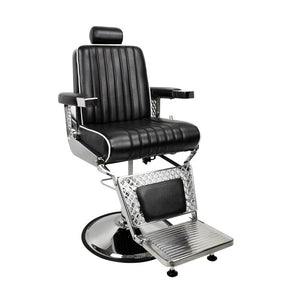 BERKELEY FITZGERALD BARBER CHAIR (BLACK)