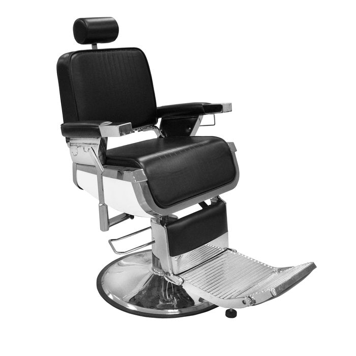 BERKELEY LINCOLN BARBER CHAIR - BLACK