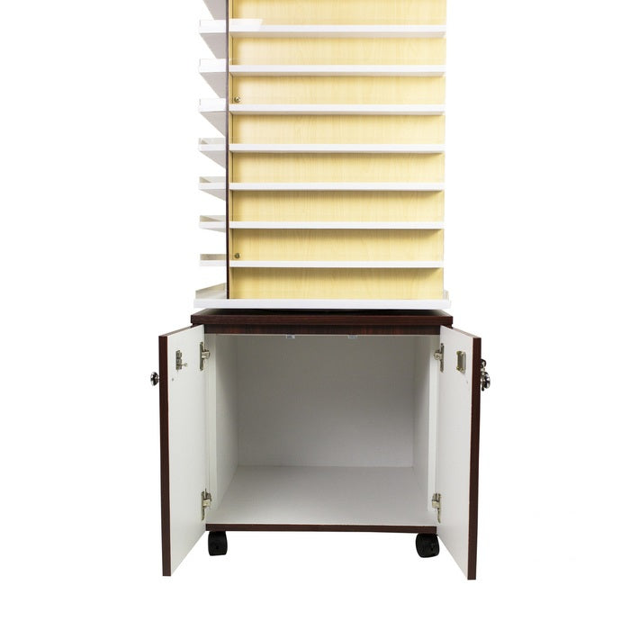 MAYAKOBA AVON I POWDER RACK CENTER WITH 360 SWIVEL