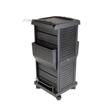 BERKELEY CLAIRE LOCKABLE SALON TROLLEY