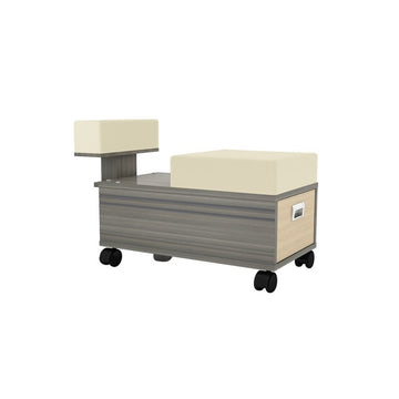 MAYAKOBA ALERA PEDICURE CART WITH FOOTREST