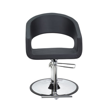 BERKELEY TRINITY SALON CHAIR (BLACK)