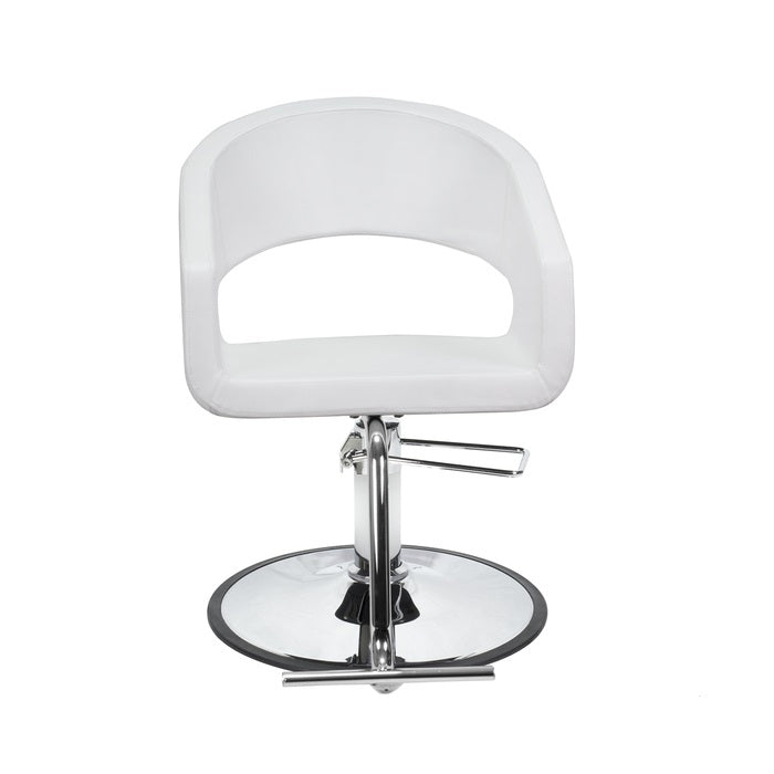 BERKELEY TRINITY SALON CHAIR (WHITE)