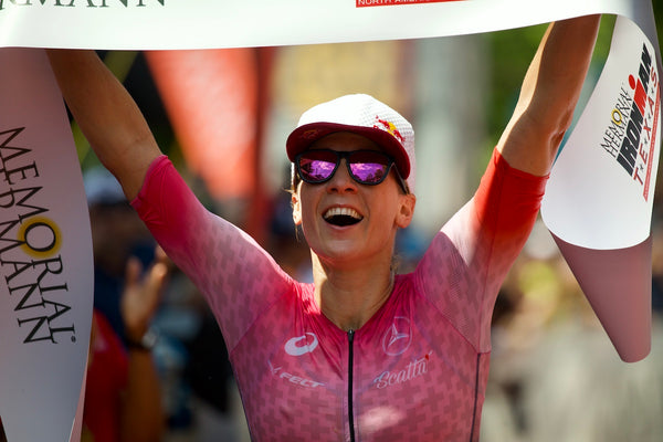 Team deboer athlete Daniela Ryf wins 2019 Ironman North American Championship in Texas