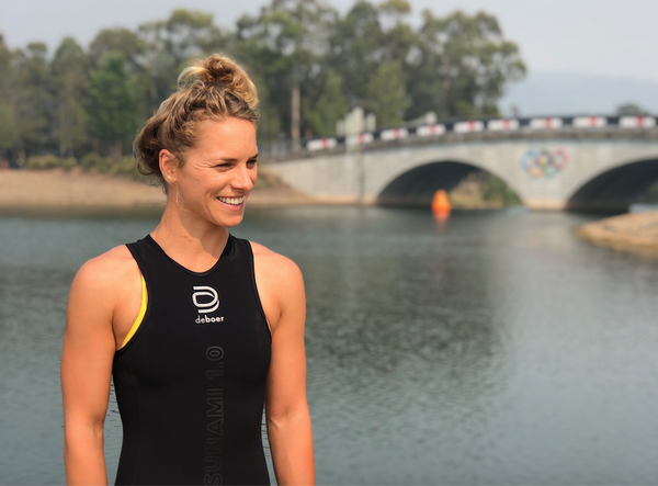 deboer wetsuits hannah wells triathlon training update new zealand