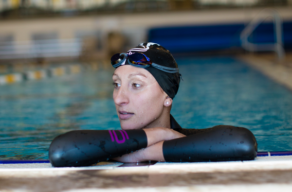 deboer wetsuits triathlete and Ironman Champion Lauren Brandon talks training in lockdown