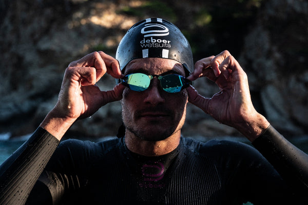 LIMITED TIME: Buy any deboer wetsuit and get a free pair of THE MAGIC5 custom goggles