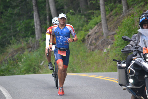 Ironman Lake Placid IMLP Run course preview deboer wetsuits Matt Russell