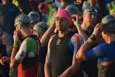 Ironman Lake Placid swim course preview deboer wetsuits Matt Russell